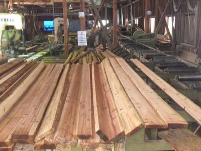 製材事業の施工例
