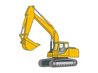 建設機械運転免許のイメージ